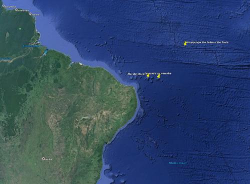 Locais onde serão instalados os sensores CARIOCA