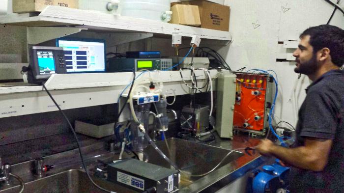 Equipamento de medição de CO2 desenvolvido pelo GT3.2