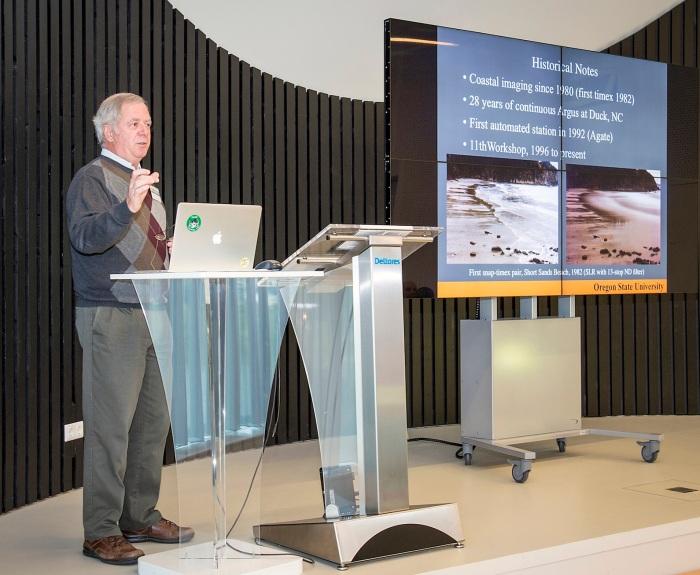 Dr Rob Holman da Universidade do Oregon idealizador do sistema Argus